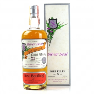 Port Ellen 1980 Silver Seal 21 Year Old / First Bottling