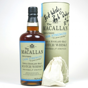 Macallan 1989 Exceptional Cask #552 (Signed)