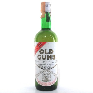 Old Guns Finest Scotch Whisky 1980s