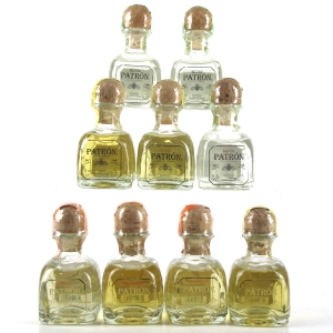 Patron Tequila Miniature collection 9 x 5cl