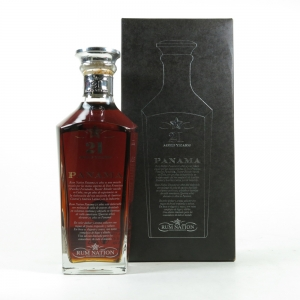 Panama 21 Year Old Rum Nation Dark Rum