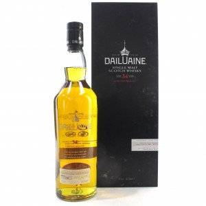 Dailuaine 1980 34 Year Old 2015 Release