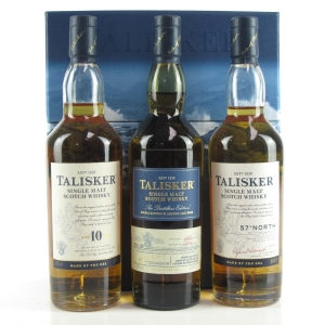 Talisker Gift Pack 3 x 20cl / Including Distillers 2003 Edition