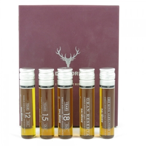 Dalmore 'I Shine Not Burn' Vial Gift Pack front