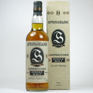 Springbank 21 Year Old 1990s
