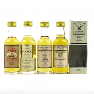 Closed Distillery Minitures including Glen Mhor 1979 / 4 x 5cl