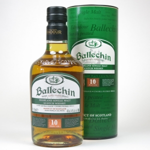 Ballechin / Edradour 10 Year Old Heavily Peated