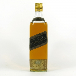 Johnnie Walker Black Label 1970s Front