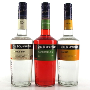 De Kuyper Fruit Liqueur Selection 3 x 70cl
