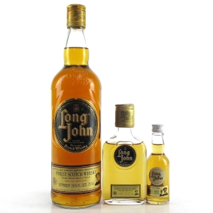 Long John 1970s / Including 3 4/5 Fl Ozs and Miniature