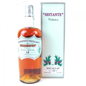 Macallan 1988 Silver Seal 18 Year Old / Sestante Collection