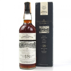 Glendronach 1972 18 Year Old