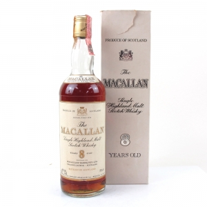 Macallan 8 Year Old 1980s