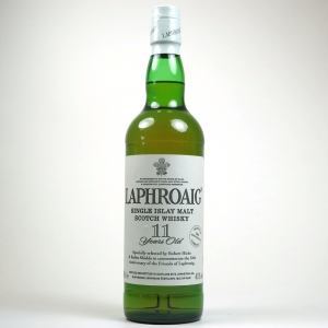 Laphroaig 11 Year Old 10th Anniversary Signed