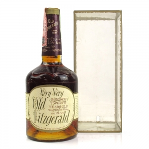 Old Fitzgerald 12 Year Old 100 Proof Circa 1986
