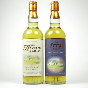 Arran Single Malt / Arran Single Malt Non-Chillfiltered 2 x 70cl
