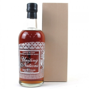 Uniting Nations 40 Year Old The Essence of Karuizawa / Ichiro Akuto Blended Malt