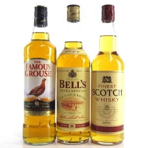Blended Scotch Selection 3 x 70cl