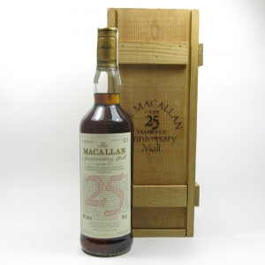 Macallan 1970 Anniversary Malt 25 Year Old