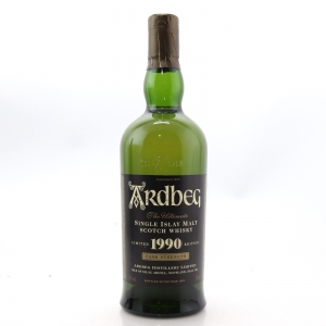 Ardbeg 1990 Cask Strength / Signed