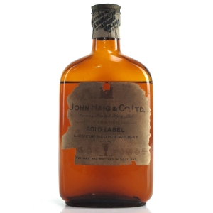 Haig Gold Label post-1936 Half Bottle