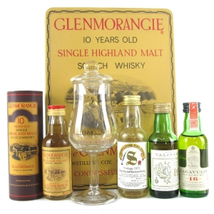 Single Malt Miniature Selection 4 x 5cl / Including Glenmorangie Gift Pack