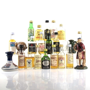 Miscellaneous Miniature Selection 22 x 5cl