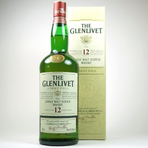 Glenlivet 12 Year Old First Fill 1 Litre