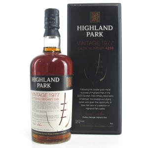 Highland Park 1977 Scottish Field Merchant's Single Cask #4258