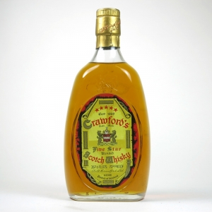 Crawford's Five Star Blended Scotch Whisky 1970s