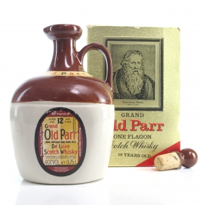 Grand Old Parr 1980s Decanter