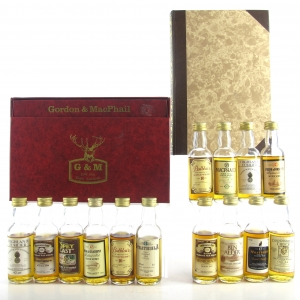 Gordon and MacPhail Miniature Gift Sets x 2 / 14 x 5cl