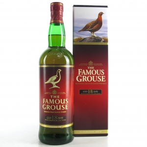 Famous Grouse 18 Year Old / Macallan and Highland Park