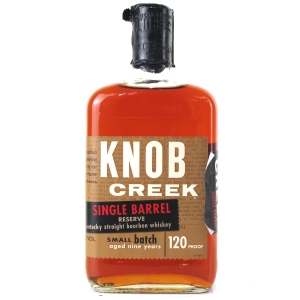Knob Creek 9 Year Old Single Barrel Reserve 120 Proof