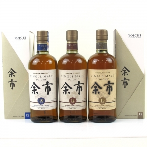 Yoichi 10, 12 and 15 Year Old Collection 3 x 70cl
