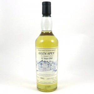 Glen Spey 12 Year Old Manager's Dram 2008 front