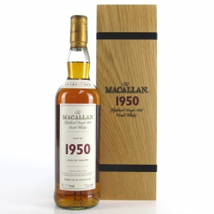 Macallan 1950 Fine and Rare 52 Year Old