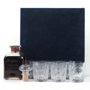 Glenfarclas 1955 Glencairn Decanter / Including 6 Glasses