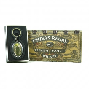 Chivas 12 Year Old Miniatures 12 x 5cl / Including Pocket Watch