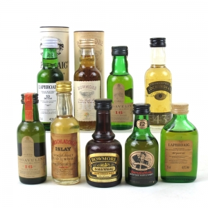 Miscellaneous Islay Miniature Selection 9 x 5cl