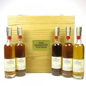 Glenlivet Vintage Collection 1967 - 1972 (5 x 200ml)