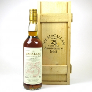 Macallan 1968 Anniversary Malt 25 Year Old
