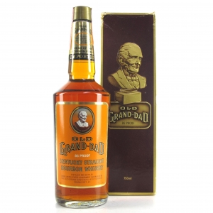 Old Grand-Dad Kentucky Straight Bourbon 1980s