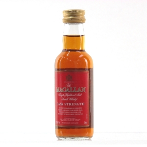 Macallan Cask Strength Miniature 5cl / US Import