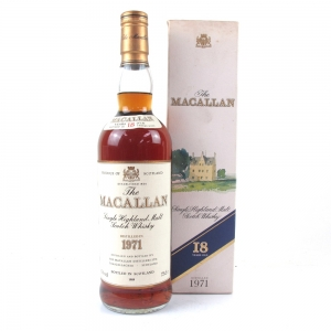 Macallan 18 Year Old 1971