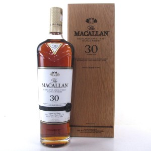 Macallan 30 Year Old Sherry Oak 2018 Release 75cl / US Import
