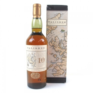 Talisker 10 Year Old / Map Label