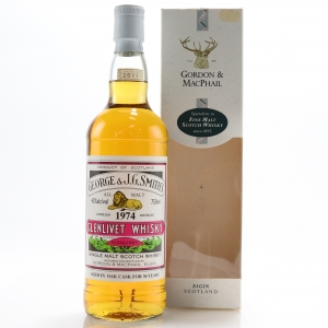 Glenlivet 1974 Gordon and MacPhail 36 Year Old 75cl / US Import