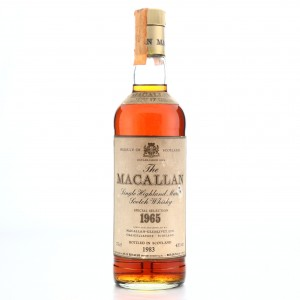 Macallan 1965 Special Selection 17 Year Old / Rinaldi Import
