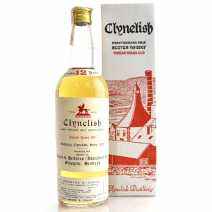 Clynelish 12 Year Old Ainslie and Heilbron Cask Strength 1969 / Edward and Edward Import